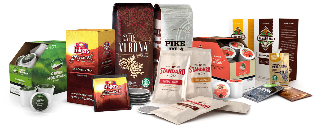 A Comprehensive Assortment of Coffee Products