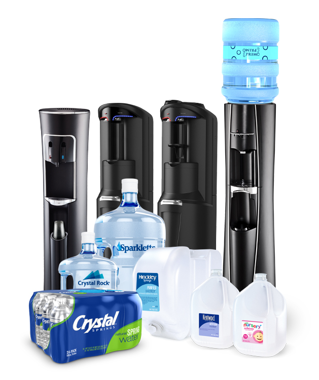 Bottled water and beverage delivery company