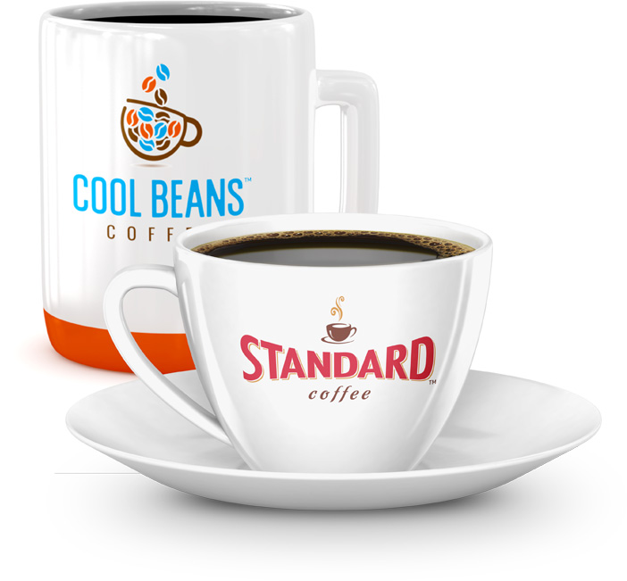 Standard Coffee, Javarama and other coffee brands available for residential and commercial delivery